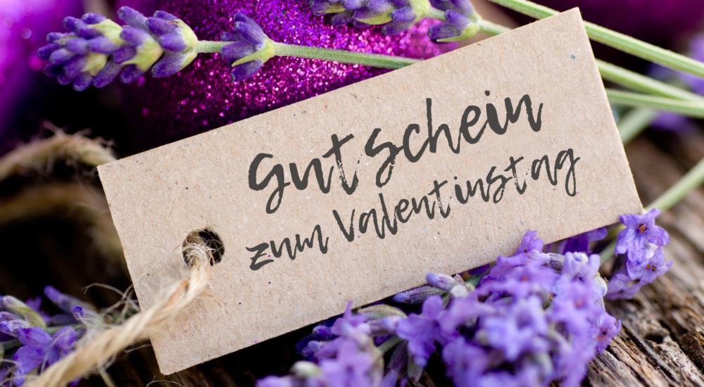 Gutschein Valentinstag