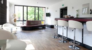 Das Uhrenhaus: Bar-/Loungebereich